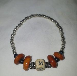 ☺Handmade alphabet bracelet